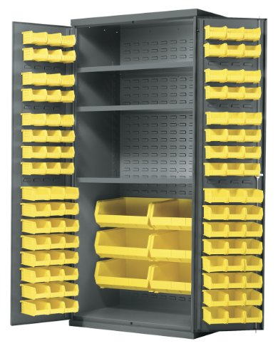 Akro-Mils All-Welded Steel Storage Cabinet with 3