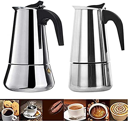 Amazon.com: NARCE - Cafetera de acero inoxidable con ...
