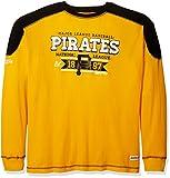 Stitches MLB Pittsburgh Pirates Men's CVC Thermal Long Sleeve Crewneck Top