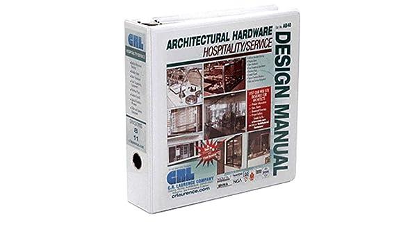 Architectural Binder-Hospitality - Window Dressing Hardware - Amazon com