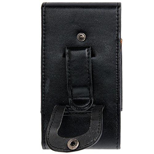 Phone case & Hülle IPhone 6 u. 6S, Taillen-Satz-Leder-Kasten mit Gürtel-Klipp für IPhone 6 u. 6S