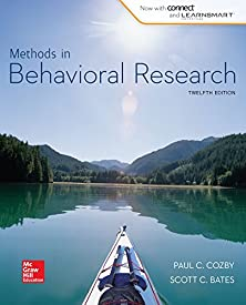 Methods in Behavioral Research (B&B Psychology) Standalone Book