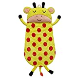 Fantasy Fields - Plush Sleeping Bag Giraffe | Portable Slumber bag | Great for Nap Time