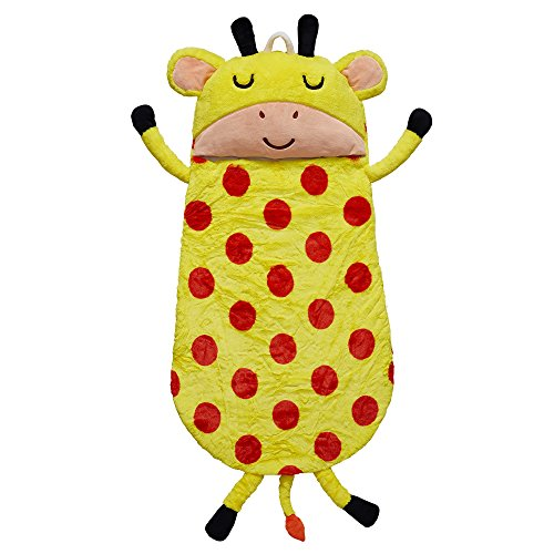 Fantasy Fields - Plush Sleeping Bag Giraffe | Portable Slumber bag | Great for Nap Time]()