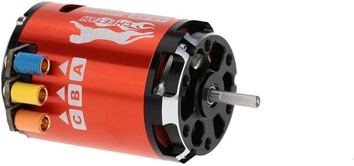 Exiron SkyRC 3250KV 10.5T 2P Sensorless Brushless Motor+CS60 60A Sensorless Brushless ESC+LED Program Card Combo for 1//10 1//12 RC Car t