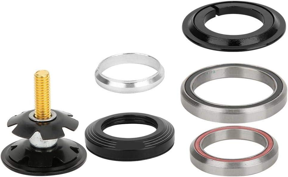 Outbit Auriculares para Bicicleta 42mm//1.7in 52mm//2in Accesorio de cojinete para Auriculares con Horquilla de Tubo Recto de Bicicleta de monta/ña para 42-52mm//1.7-2in