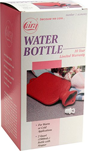 - CARA Economy Hot Cold Rubber Water Bottle