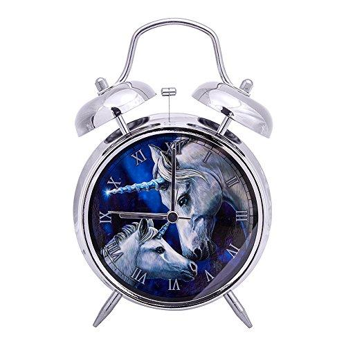 Amazon.com: Nemesis Now Sacred Love Lisa Parker Alarm Clock (Silver): Home & Kitchen