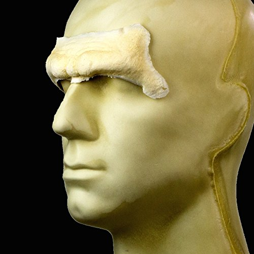 Rubber Wear Foam Latex Prosthetic - Caveman Forehead FRW-043 - Makeup and Theater FX ()