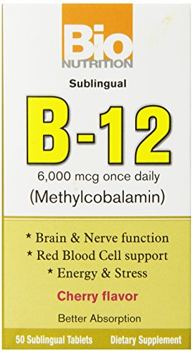 Bio Nutrition B-12 Sublingual Tablet, 50 Count Review