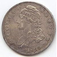1836 Capped Bust Half Dollar Choice Extra Fine