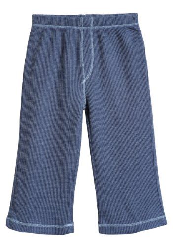 City Threads Boy and Girl Thermal Pants Bottoms - Fall and Winter School Uniform or Sports Sensory Sensitive Kids SPD Base Layer, Midnight, 4]()