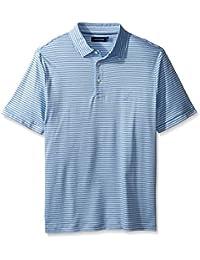 Nautica Men's Classic Fit Short Sleeve Striped Premium...