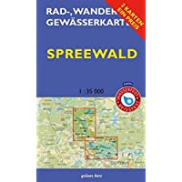Rad-, Wander- und Gewässerkarten-Set: Spreewald: Mit den Karten: Oberspreewald und Unterspreewald. Maßstab 1:35.000. Wasser- und reißfeste Karten. ... und Gewässerkarten Berlin/Brandenburg