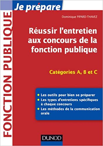 Livres gratuits Réussir l'entretien aux concours de la fonction publique - Catégories A, B et C pdf, epub ebook