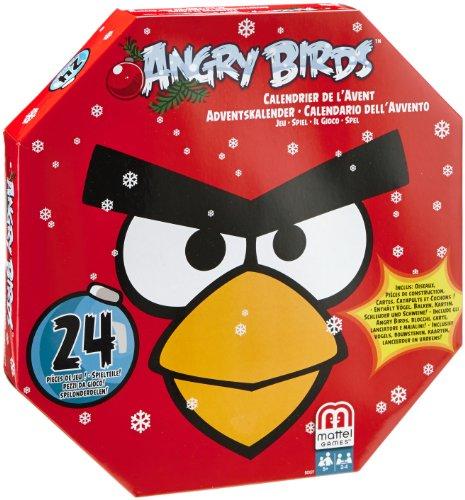 Mattel – Calendario de adviento Angry birds (BCK27) (importado)