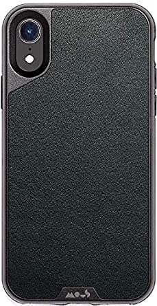 new product b6228 7dd25 Mous Protective iPhone XR Case - Genuine Leather - Screen Protector Inc.