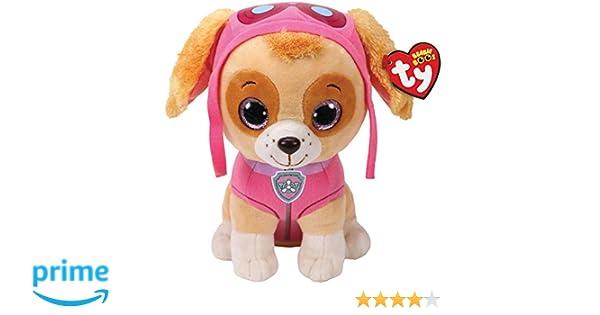 Alaska Stuffed Animals, Ty Beanie Boos Nickelodeon Paw Patrol Skye The Dog Glitter Eyes New With Tags
