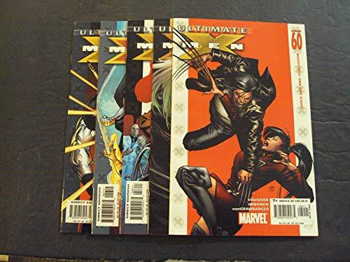 5 Iss Ultimate X-Men #56-60 Apr-Aug 2005 Modern Age Marvel Comics