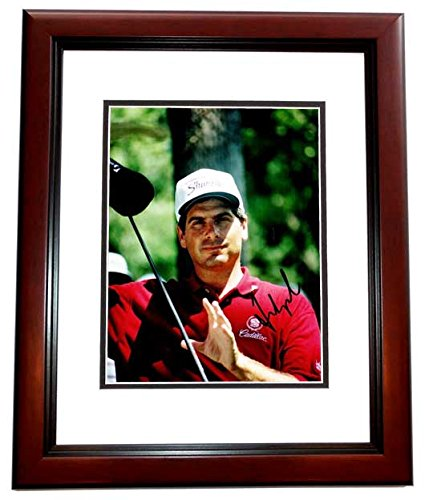 - Autographed Golf 8x10 inch Photo MAHOGANY CUSTOM FRAME - Guaranteed to pass PSA or JSA ()