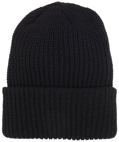 Chaos Men's Gamma Bulky Knit Wool Blend Watch Cap (Black, One Size)