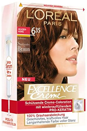 loral excellence creme 635 brun chocolat - L Oreal Coloration Chocolat