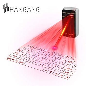 Bluetooth Clavier Mini Pour Laser Sans Fil Hangang Smartphone Yb6gf7y
