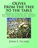 Olives:           From the tree to the table: Olives: Step by Step Lye method of curing.  Famous Fecher pickled olive recipe.