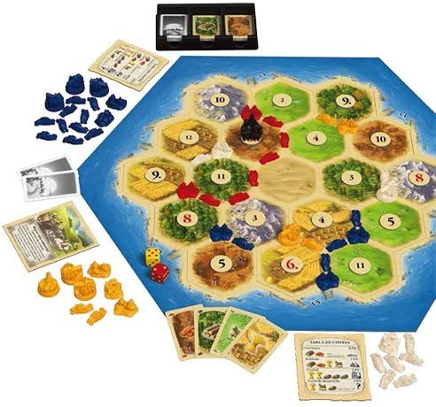 Devir - Catan, juego de mesa - Idioma castellano (BGCATAN): Amazon ...