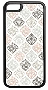 MEIMEI03-Colorful Damasks- Case for the APPLE ipod touch 4 ONLY-Hard Black Plastic Outer CaseLINMM58281
