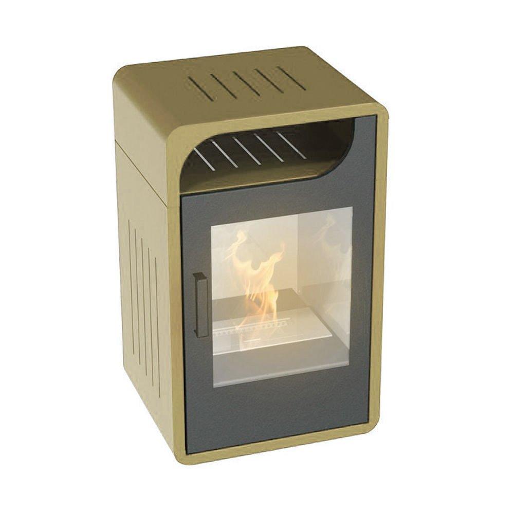 Stufa a bioetanolo 3000W statica riscaldamento casa 60m3 FIAMMETTA ...