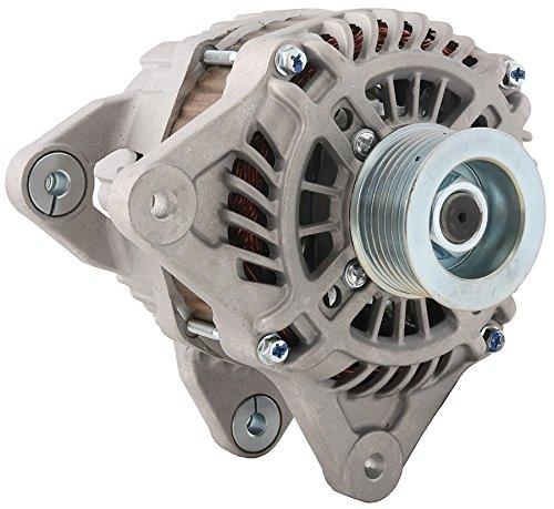 (New DB Electrical 400-48208 Alternator for 1.6L 12:30 Clock 110 Amp Internal Fan Type Solid Pulley Type Internal Regulator CW Rotation 12V Nissan Versa 2012 2013 2014 2015 2016 2017 23100-3BE1A)