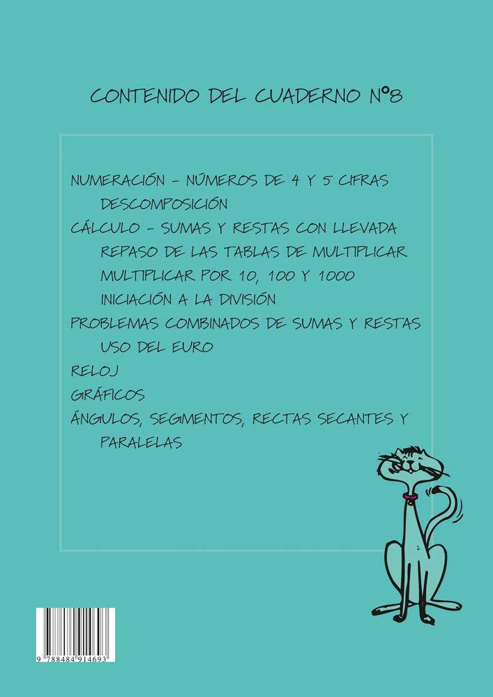 Matemáticas fáciles 8, Educación Primaria: EQUIPO ABACO: 9788484914693: Amazon.com: Books