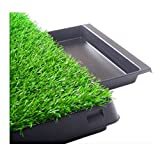 Dog Potty home Training Toilet Pads Trays Grass House Surface Pet Park Mat Indoor