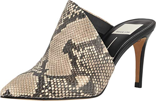 (Dolce Vita Women's Camala Mule Snake Print Embossed Leather 10 M US)