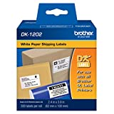 Brother DK-1202 Paper Shipping Label Roll - Retail Packaging -Packaging may vary