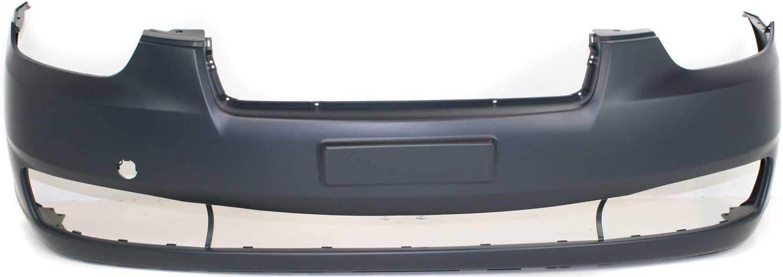 Front Bumper Cover For 2003-2006 Hyundai Accent Hatchback//Sedan Primed Plastic