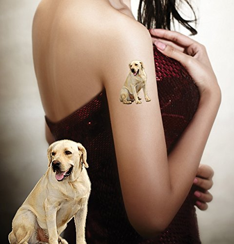 Pet temporary tattoos product | Send us pets photo image | We create fake tattoo item 2x2 inch - Sticker supplies decals last 2-5 days - Products applied with water | Dog, Cat, Bird, Kitten, Puppy