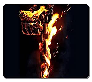 Customized Fashion Style Textured Surface Water Resistent Mousepad Ghost Rider 2 Non-Slip Best Large Gaming Mouse Pads