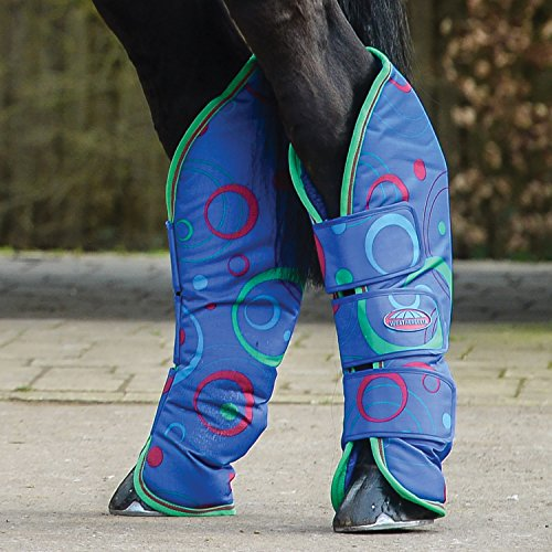 Weatherbeeta Wide Tab Travel Boot Cob Circle Print by Weatherbeeta