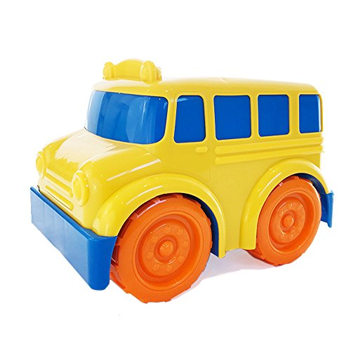 Boley School Bus Toy for Toddlers and Babies - Educational toy for toddlers with vibrant colors for baby sensory development