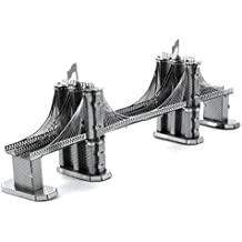 Fascinations Metal Earth Brooklyn Bridge 3D Metal Model Kit