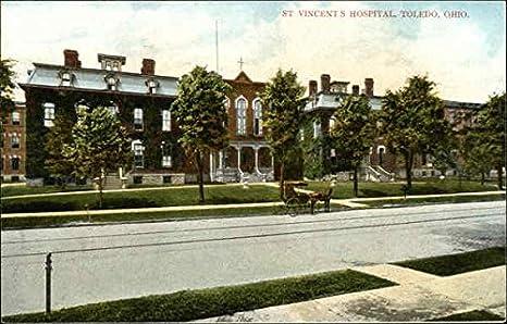 Toledo Hospital Organised in 1874 TOLEDO Ohio Vintage Postcard