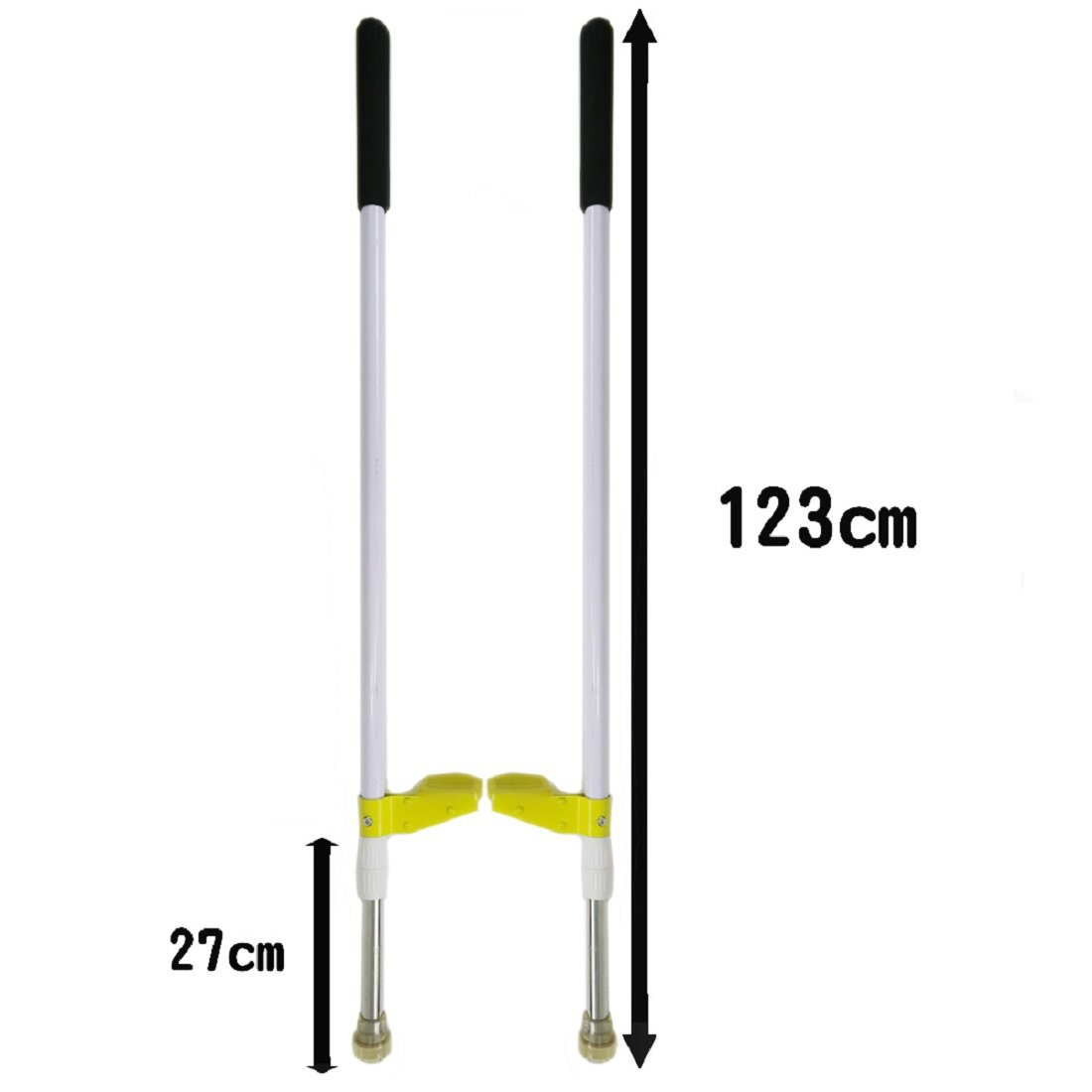 Funderful 48 inch Walking Stilts - Clown Stilts - Balance Stilts by Funderful