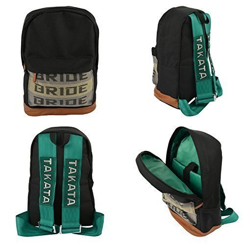 Shot Laptop Backpack - Sure Shot Bride JDM Takata Harness Straps Laptop Backpack