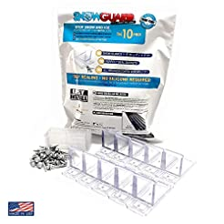 (10 Pack) Snow Guard with Perfect Seal G...
