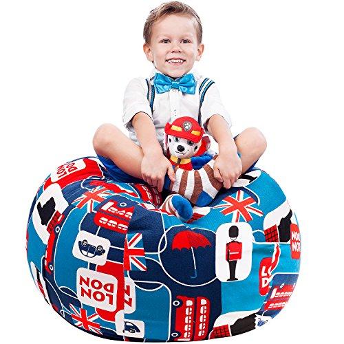 Blue Star Bean Bag Chair - 6