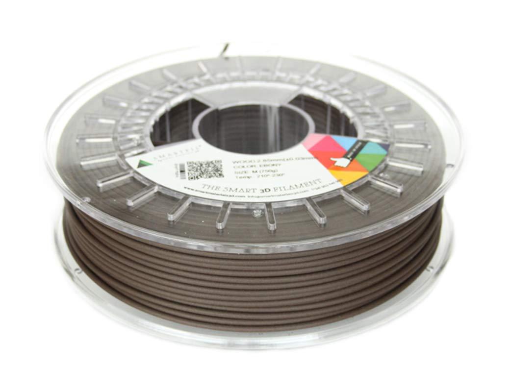 Smartfil WOOD, 1.75mm, Ebony, 750g Filamento para Impresión 3D de ...
