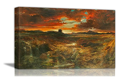 - Childe Roland To The Dark Tower Came - By Thomas Moran - Canvas Prints 16