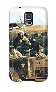 New Fashion Premium Tpu Case Cover For Galaxy S5 - Aircraft